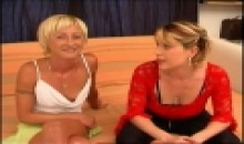 duo de blondes coquines